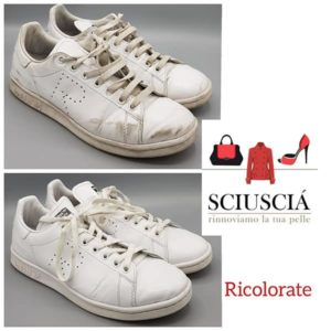 riparazione pulizia scarpe borse pelle