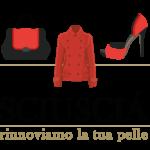 Logo del negozio di Padova Sciuscia - Pulizia scarpe e cura capi in pelle. Motto: Rinnoviamo la tua pelle